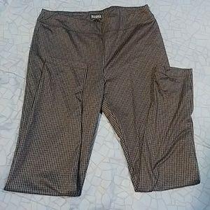 Pants - Plaid dress pants